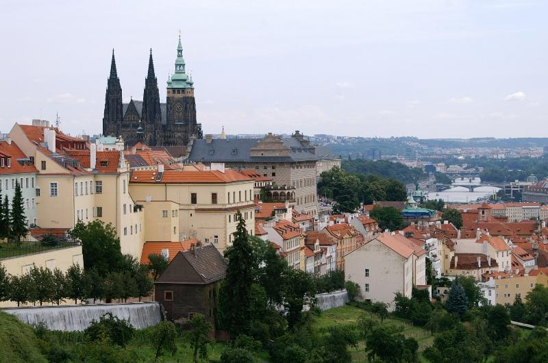 Чехия 2011, часть 4: Градчаны, или как пройти в библиотеку.