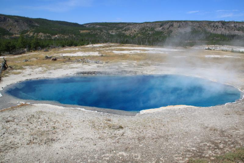 Yellowstone, Ч.2 О драгоценных лужах и не только.
