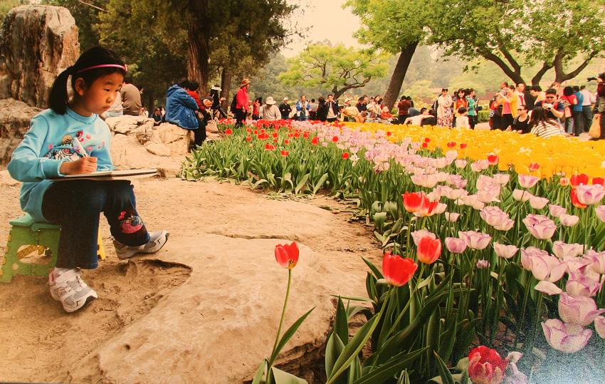Весна, прИде! (Фотовыставка на Никольской)