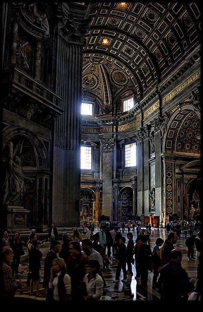 Первые ватиканские зарисовки