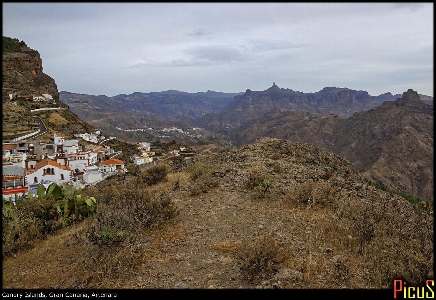 Пустынный городок и вулканический гигантизм