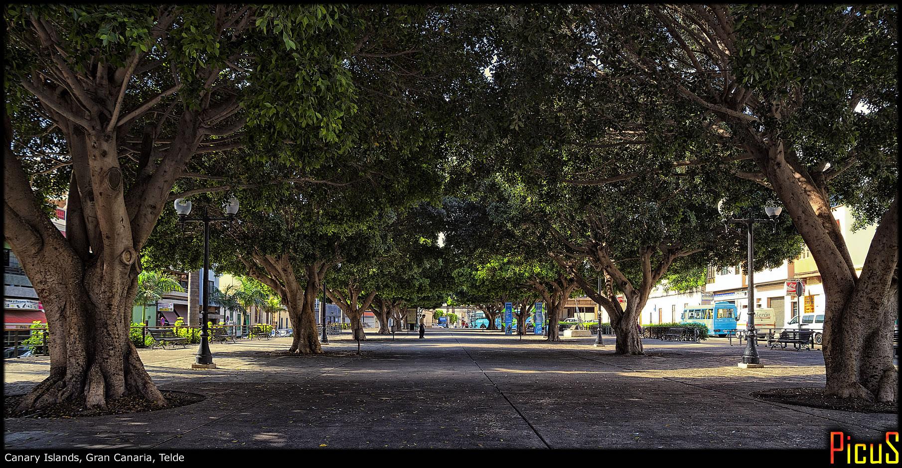 Обычный тихий канарский городок
