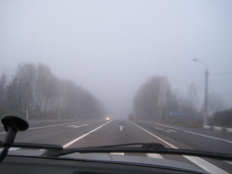 Беларусь туманная