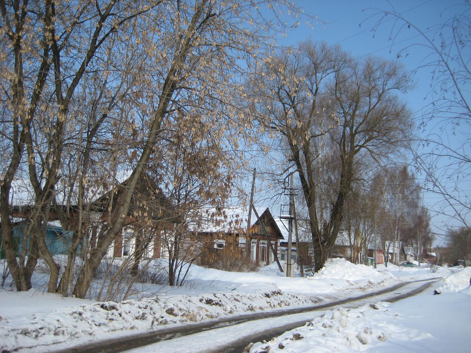 Весенне-зимняя поездка