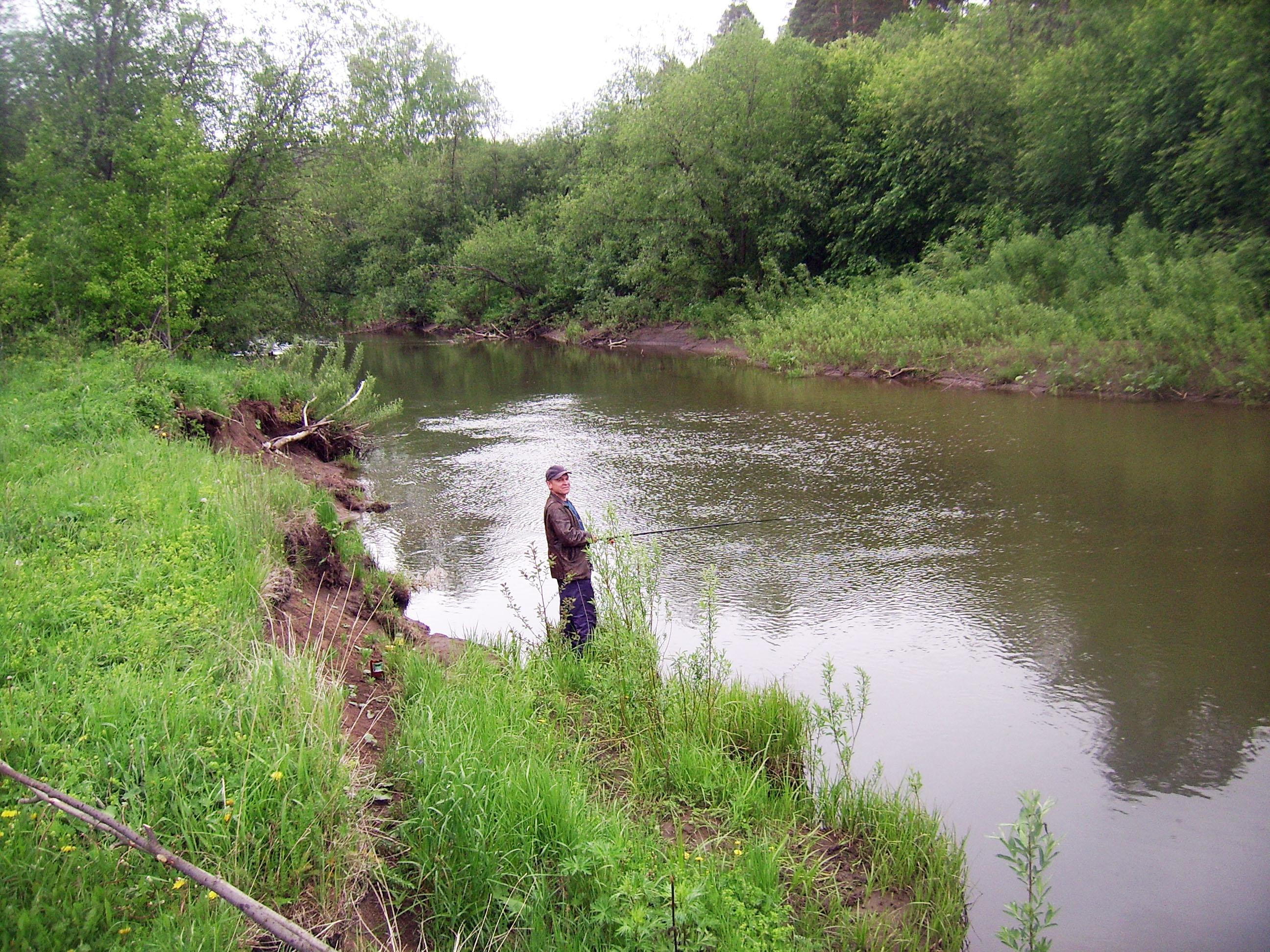 рыбалка на реке караболка