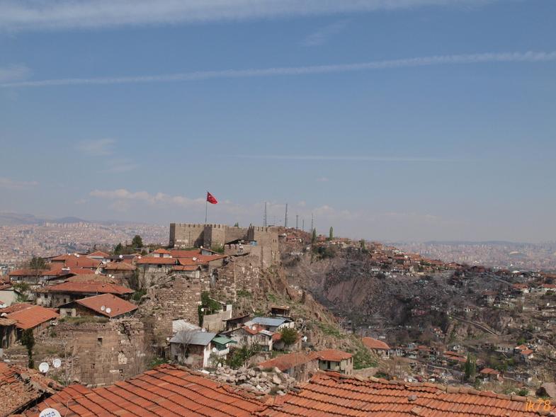 Анкара и озеро Туз. От высот птичьего полета к соляному зеркалу.