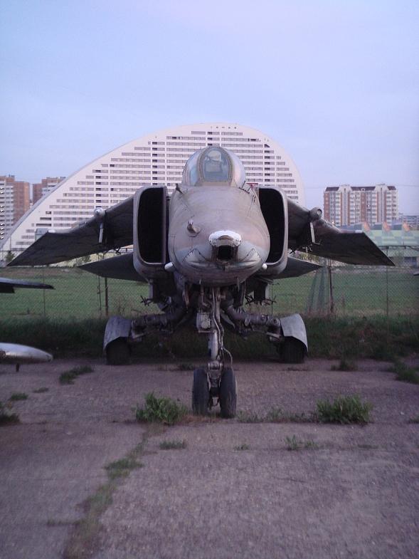 Семейное посещение Центрального музея военно-воздушных сил (Монино)