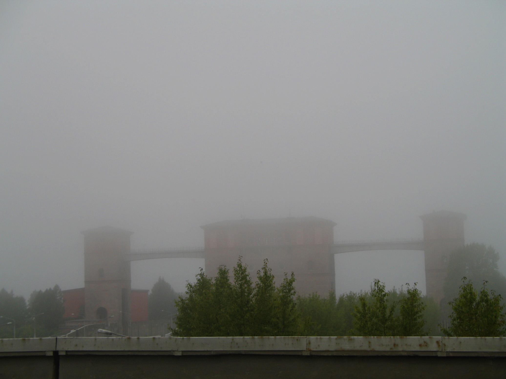 Ежики в тумане, на мотоцикле