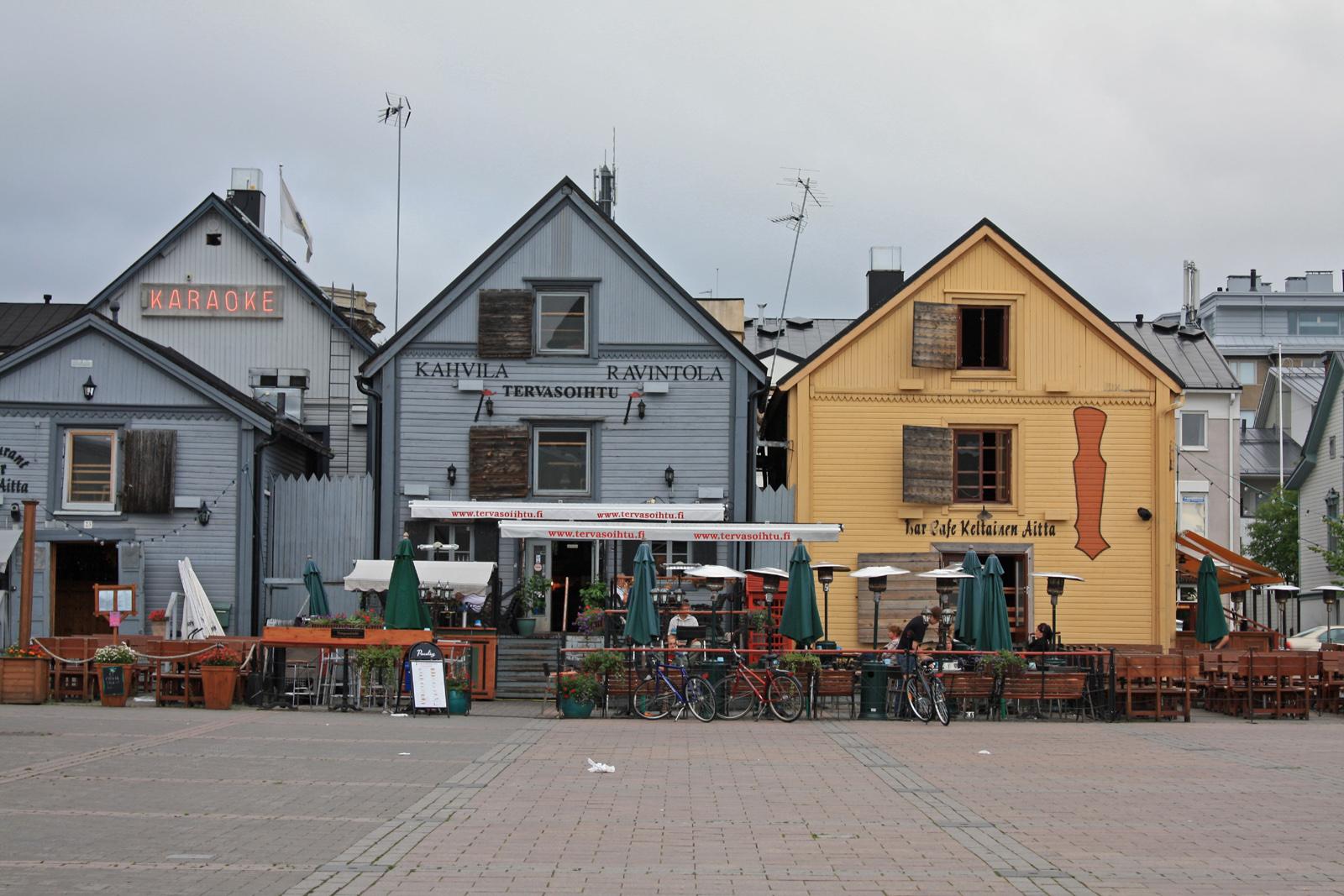 Оулу: родина черного финского панк-металла