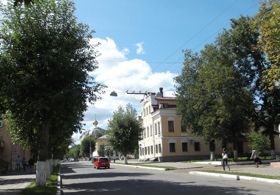Прогулка по городу Вятке