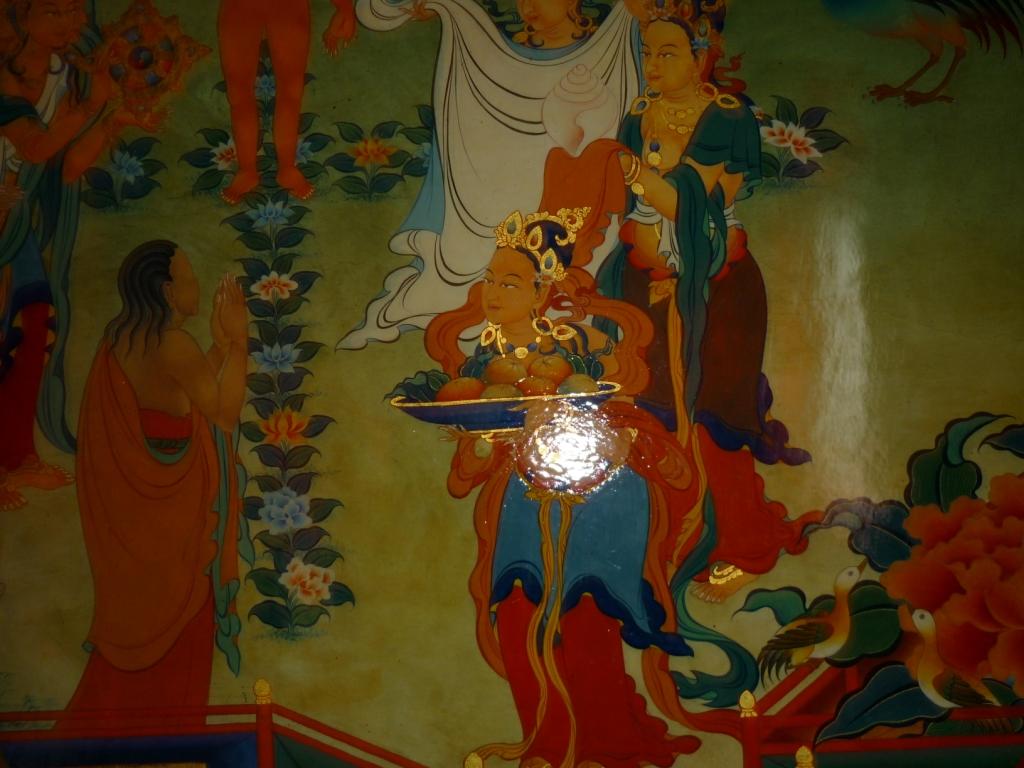 В гостях у Будды.