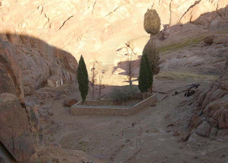 Церковь в горной долине