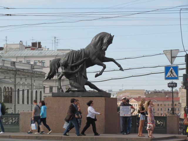 В Санкт-Петербург на сутки, включая дорогу. С мамой за ручку