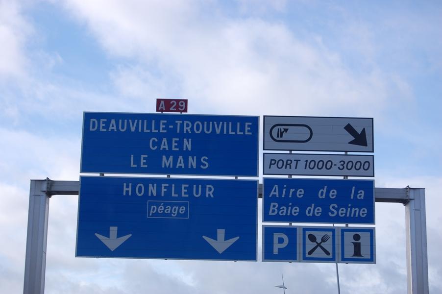 По северу Франции на автомобиле