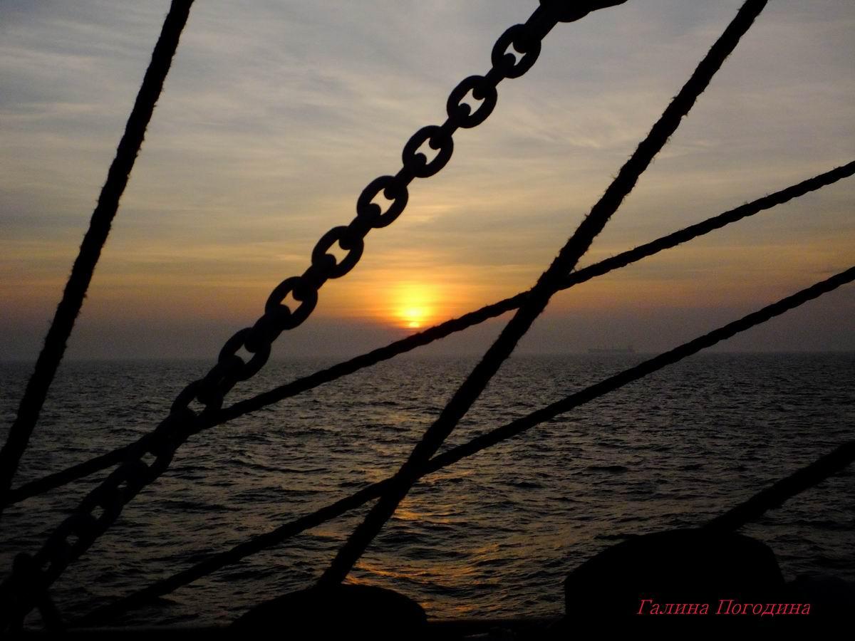 Девять дней свободы на барке