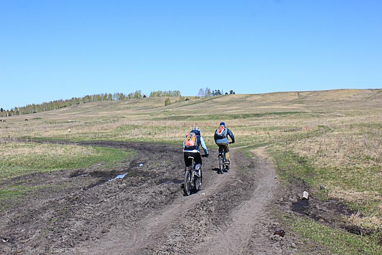 Велопрогулка по Катайскому району Курганской области. По Восточно-Уральскому радиоактивному следу.