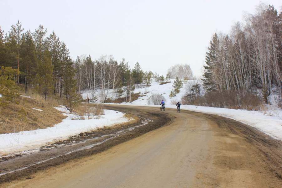 Путешествие в весну. Закрытие зимнего велосезона.