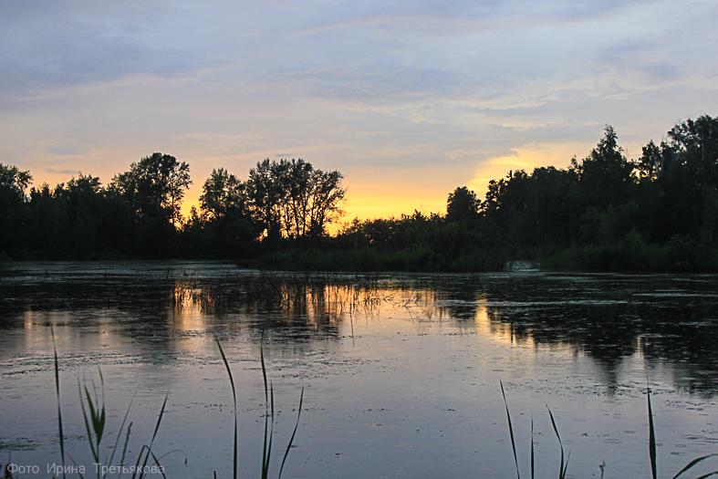 В поисках устья реки Боровлянка