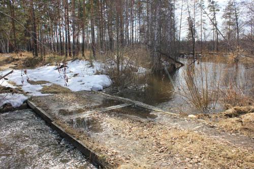 Весна - время перейти эту реку вброд