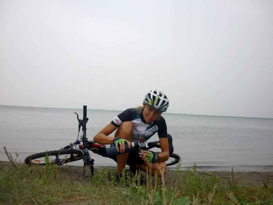Велопрогулка по окресностям г. Кургана. Озеро Орлово.
